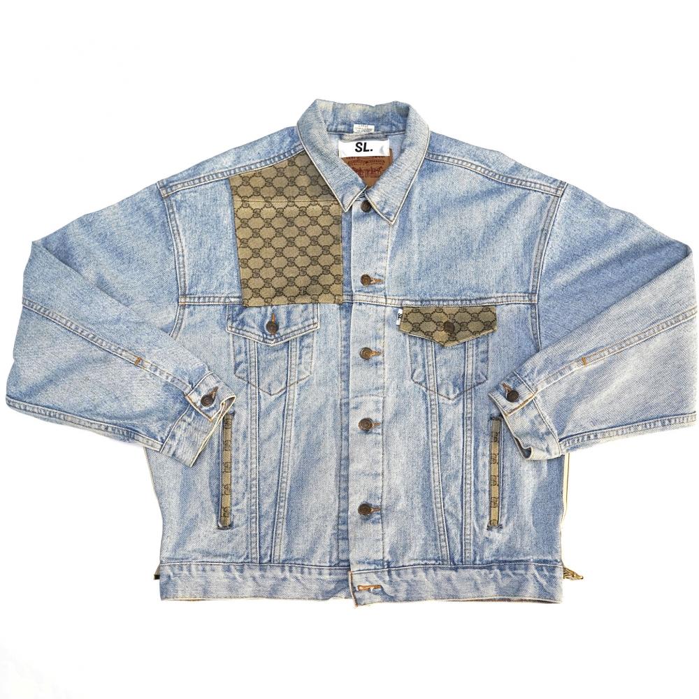 Veste Jeans Rebuild Gucci