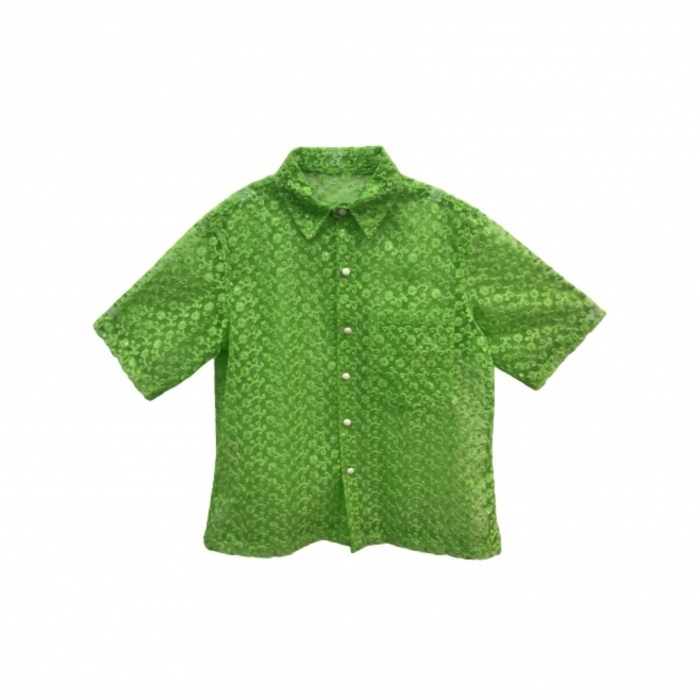 Chemise en filet brodé Uma - Woodë