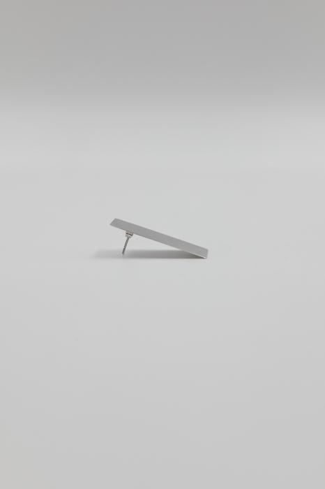 Boucle d'Oreille Plaque Courte - Unique
