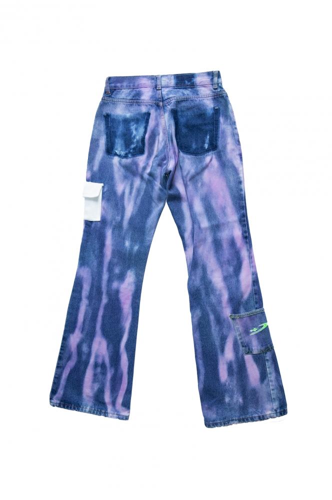Jean tie & dye