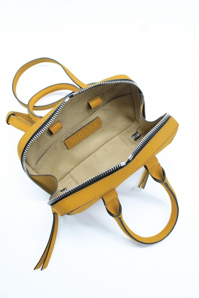 Mini Briefcase - Jaune
