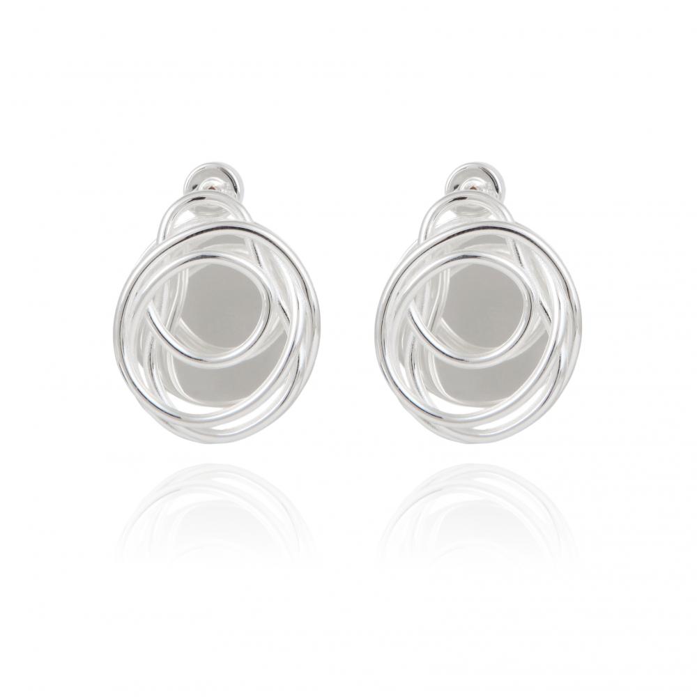 Boucles d'Oreilles ARA Silver