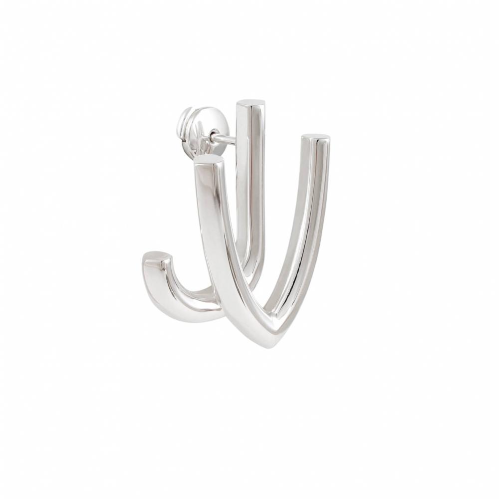 Boucles d'Oreilles - JV - Silver