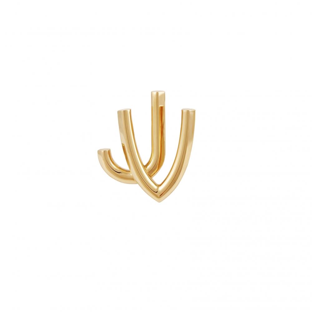 Boucles d'Oreilles - JV - Vermeil
