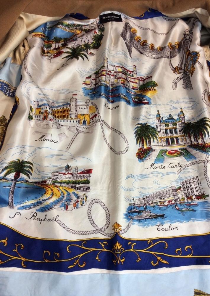"""Manteau en Laine et Cachemire """"French Riviera"""""""