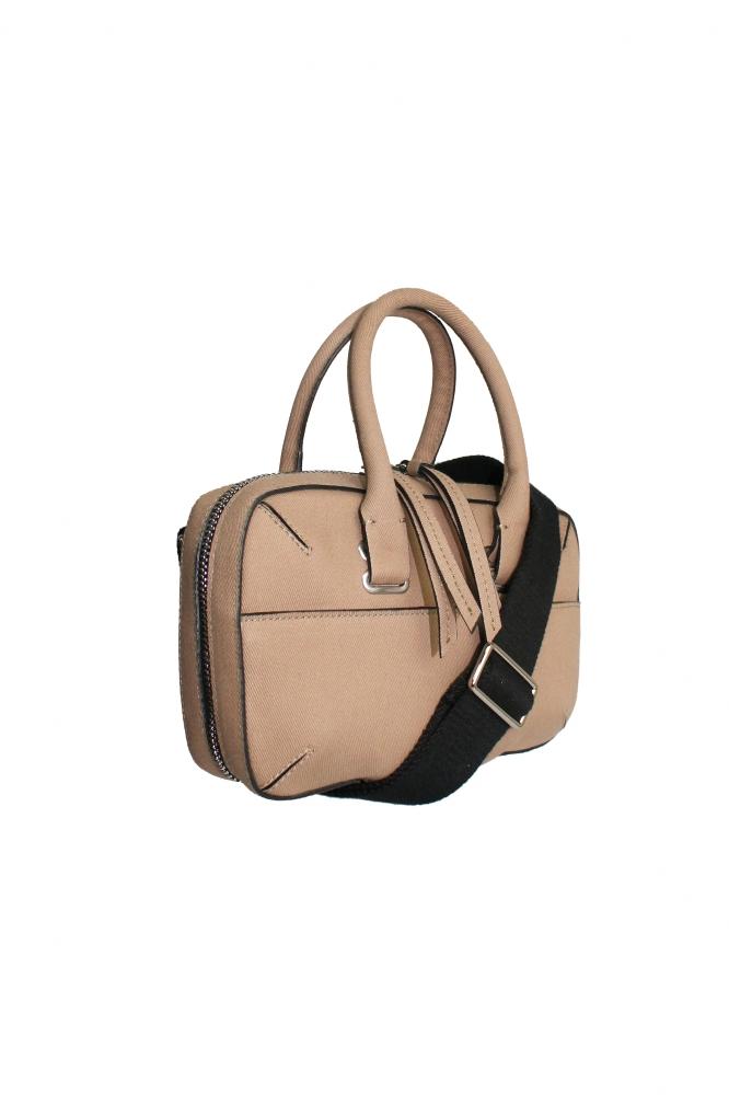 Mini Briefcase 0% leather Peanut