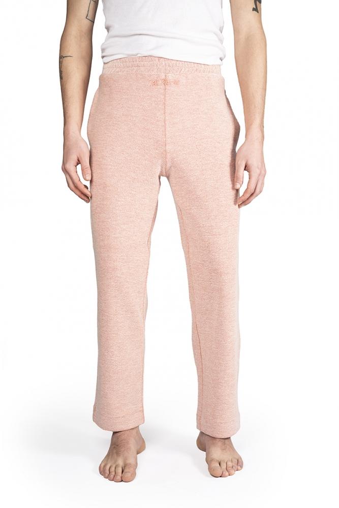 Pantalon jogging en coton - Rose
