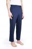 Pantalon jogging en coton - Bleu