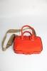 Mini Briefcase 0% leather Papaya