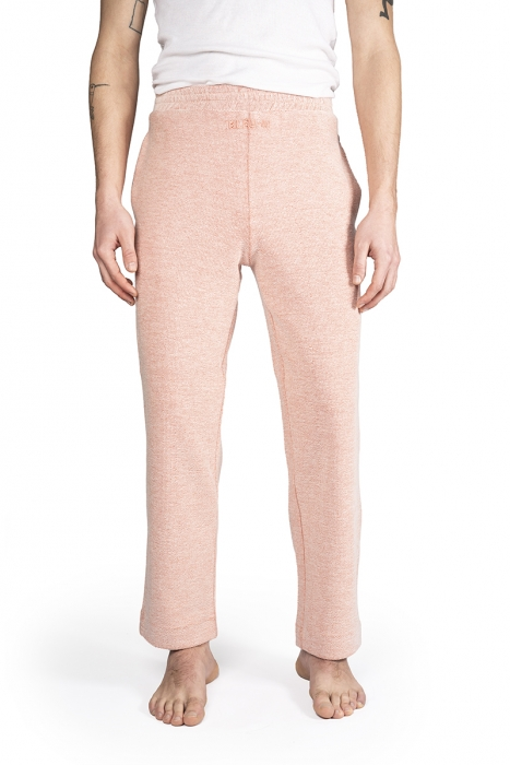 Pantalon jogging en coton - Rose
