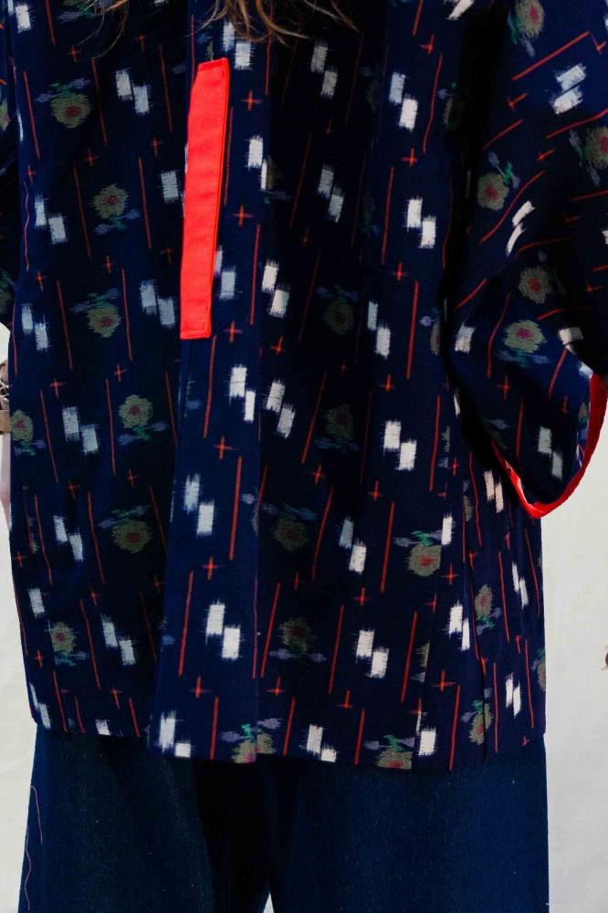 "Kimono \""Pause\"" en laine froide"
