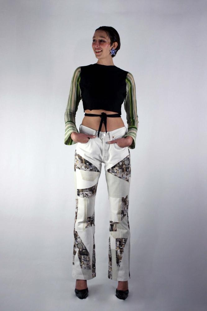 Pantalon Patchwork upcyclé Butler