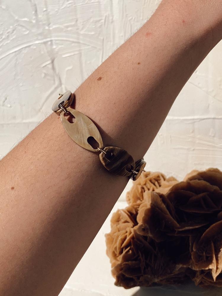 Bracelet Lya - beige