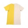 T-shirt Two Faces en coton Jaune