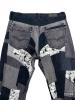 Pantalon Patchwork upcyclé Teddy B 4
