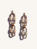 Boucles d'Oreilles Mia - Beige