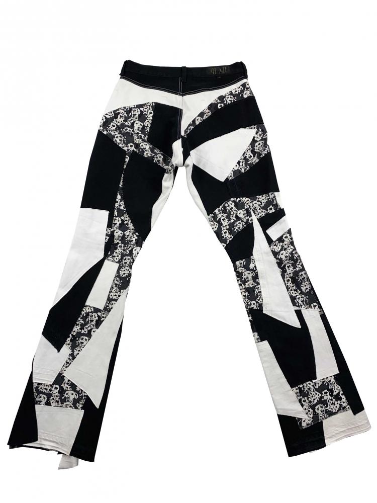 Pantalon Patchwork Dalmatiens