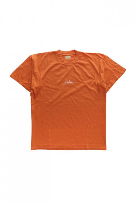 T-shirt 100% coton orange