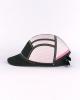 Casquette Solaris Black  & Pink