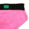 Tanga tricoté rose
