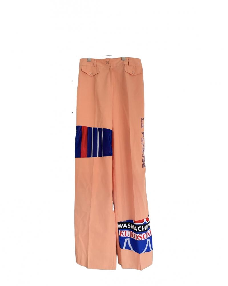 Pantalon large pattes d'éléphant