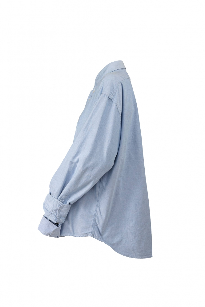 Chemise doublée bleu clair