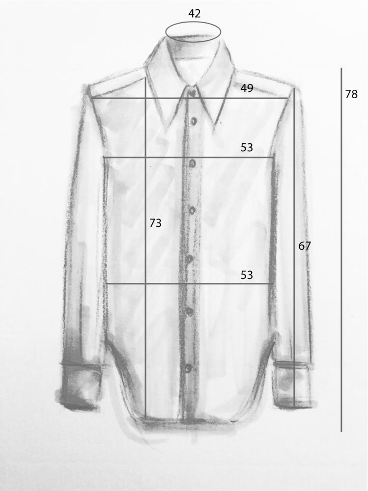 Chemise oversize à imprimé heidi