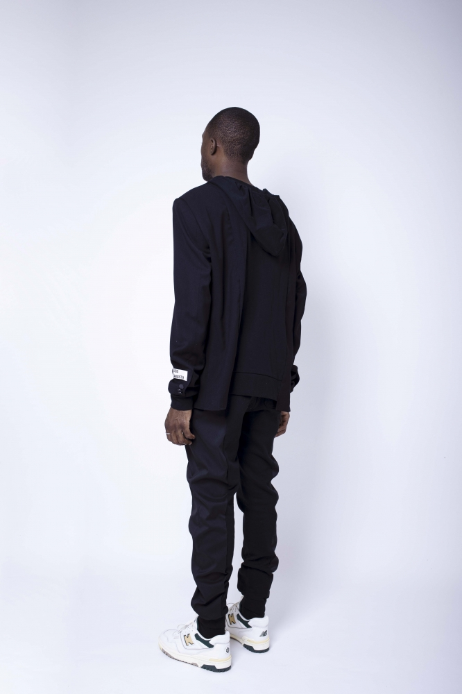 Pantalon smogging noir