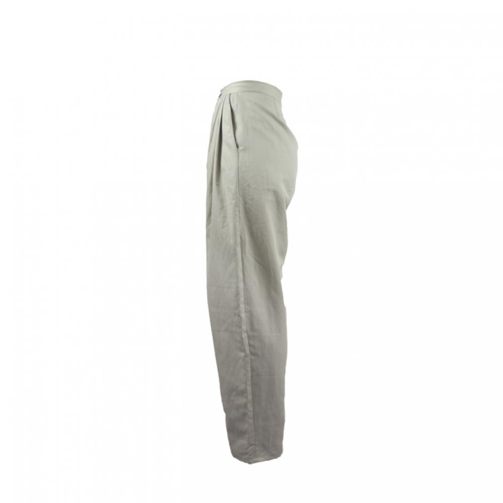 Pantalon Taille Haute et Coupe Boule