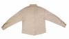 Chemise en laine beige