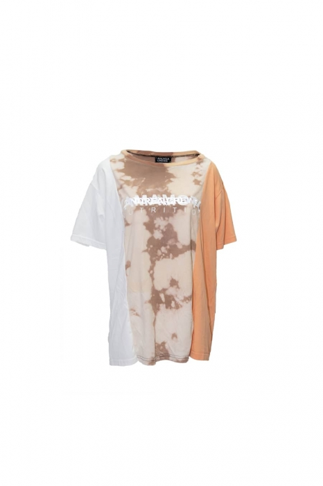Patchwork Dyed tee