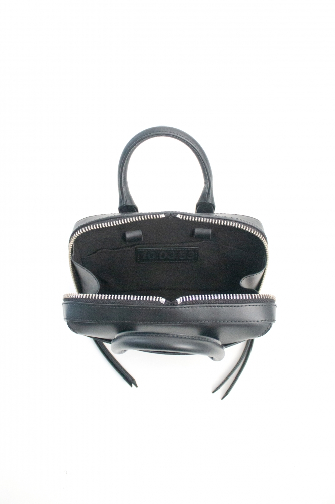 Sac Mini Briefcase Cuir Noir