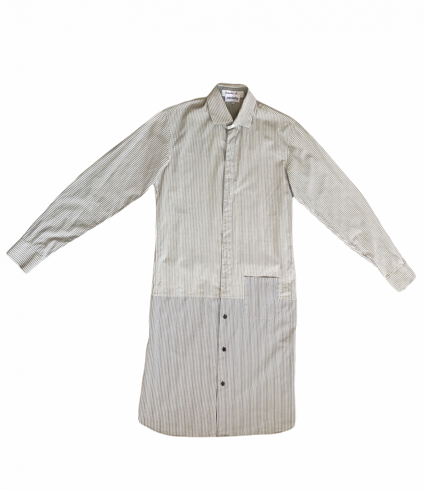 Robe en chemises grise