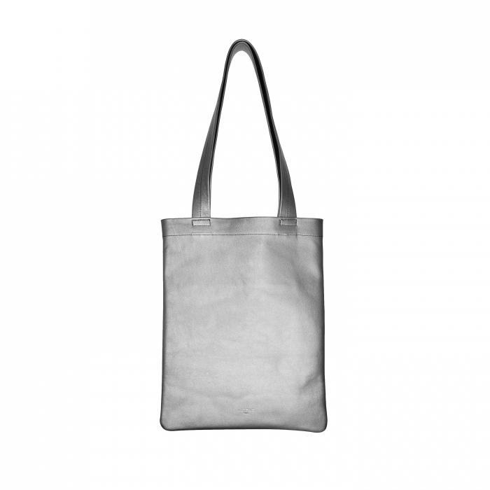 Shopping Bag Silver