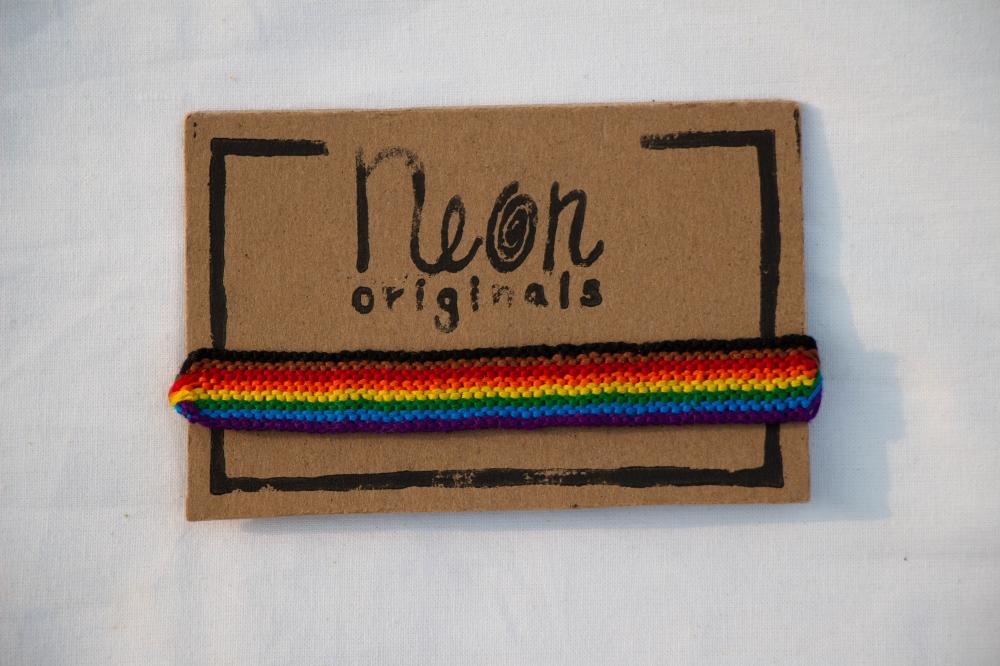 Pride Flag Friendship Bracelet