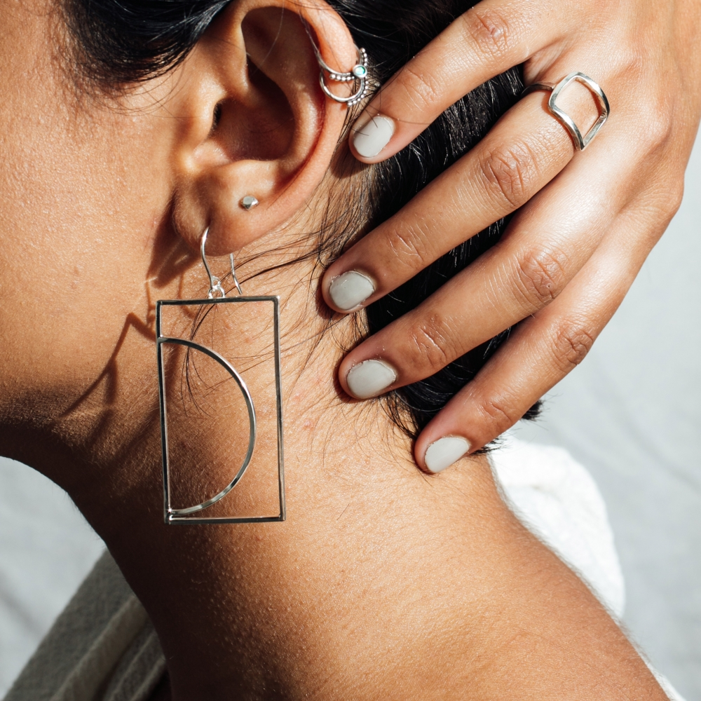 Arco Dangle Earrings