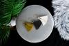 Mustard Silk Tassel Drop Earrings