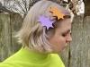 Funky, retro hair clip