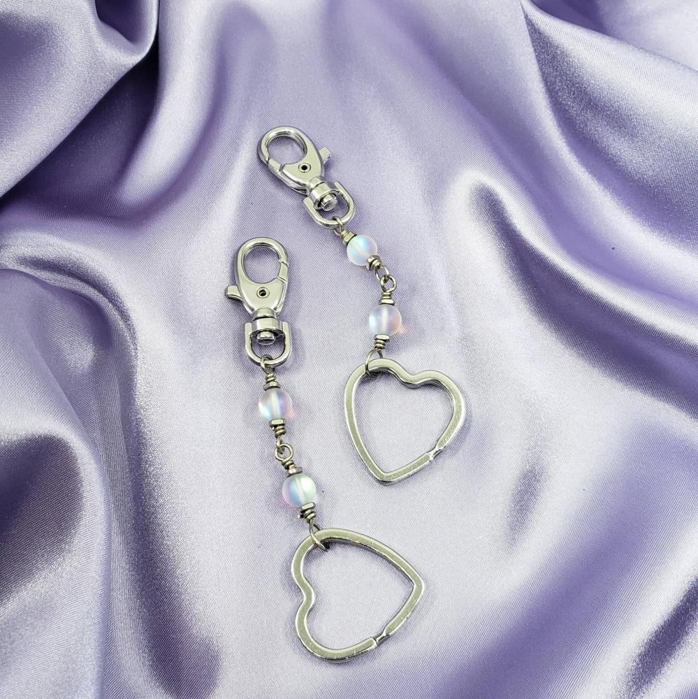 Opalite Lover Keychain