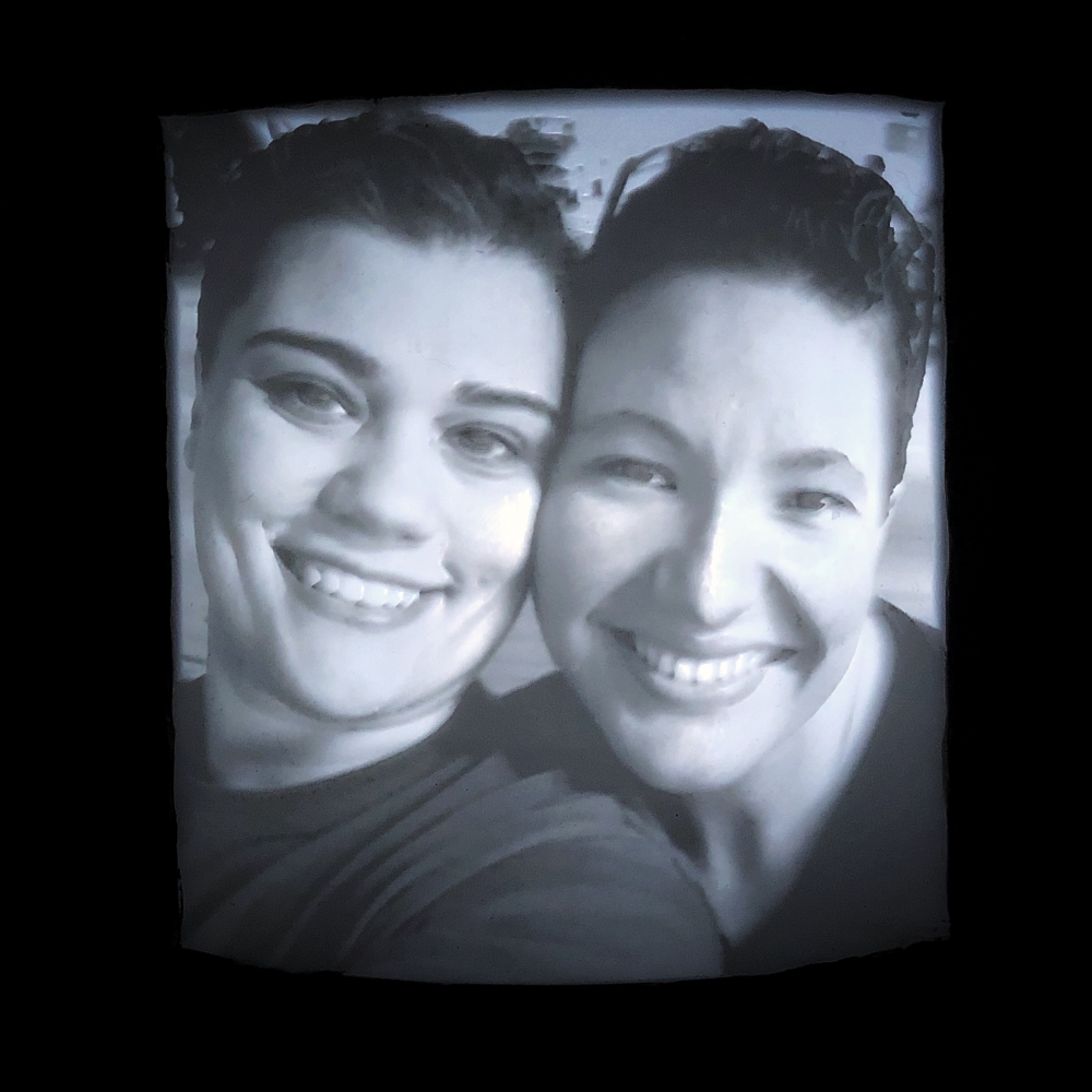Valentine's Day 3D Printed Personal Photograph (Lithophane)