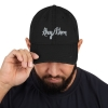 They/Them Distressed Embroidered Dad Hat