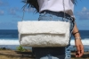Sac fausse fourrure blanche