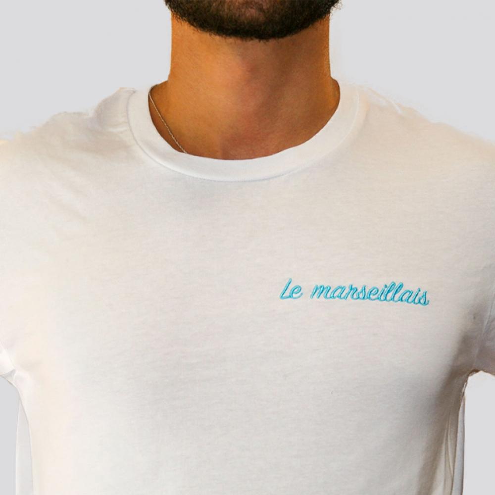 "Tee-shirt \""Le marseillais\"""