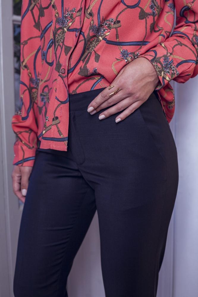 Pantalon Michael bleu