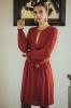 Robe Inaya version rouille