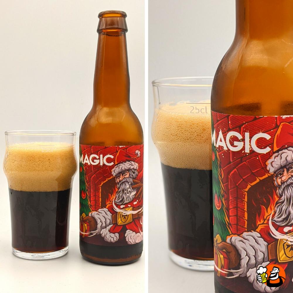 Magic Christmas Stout - bio - 12x33cl