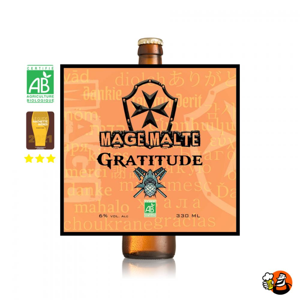 Gratitude - bio - 12x33cl
