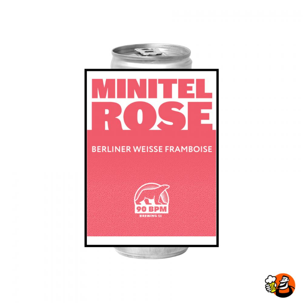 Minitel Rose 6x33cl