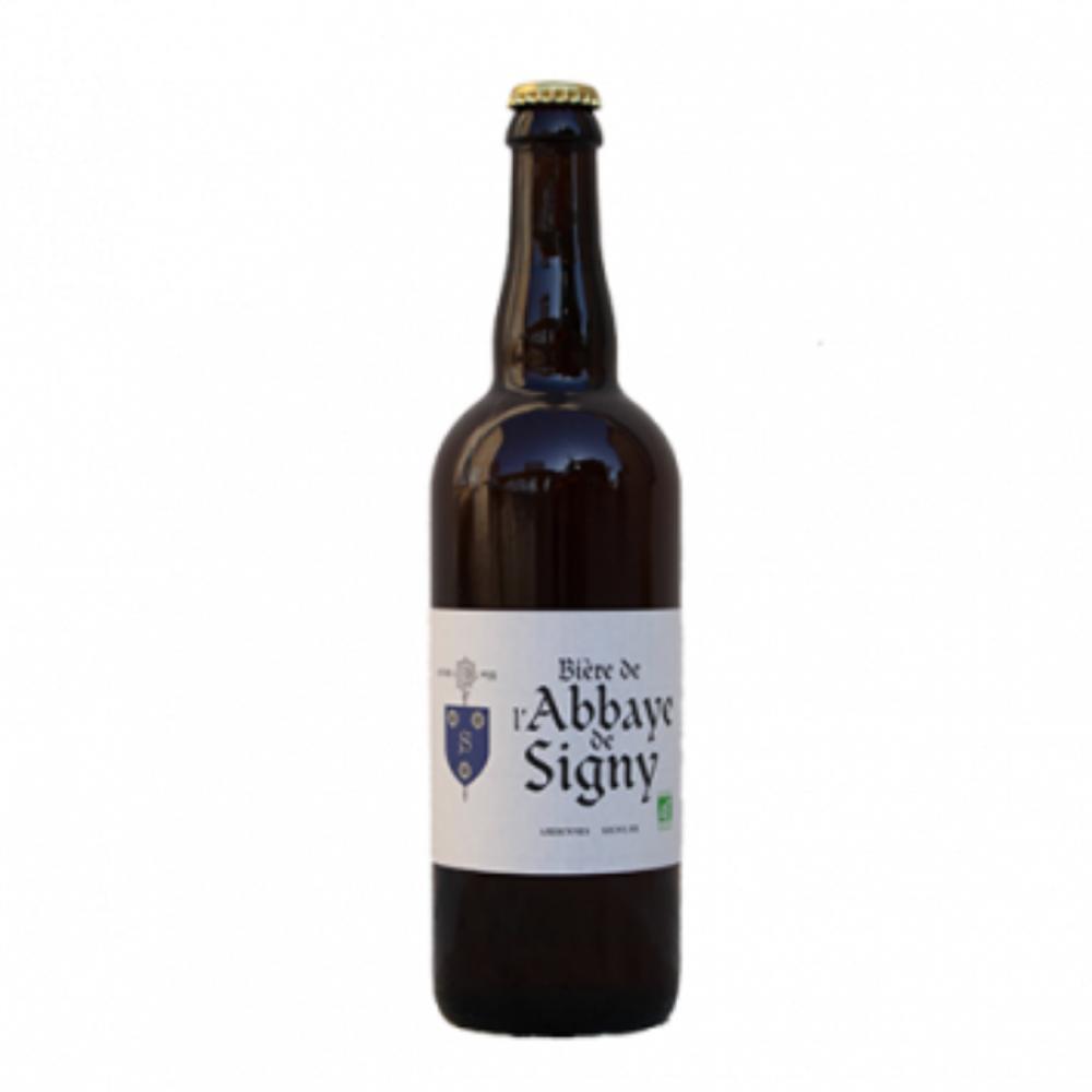 La bière de l'abbaye de Signy 6x75cl