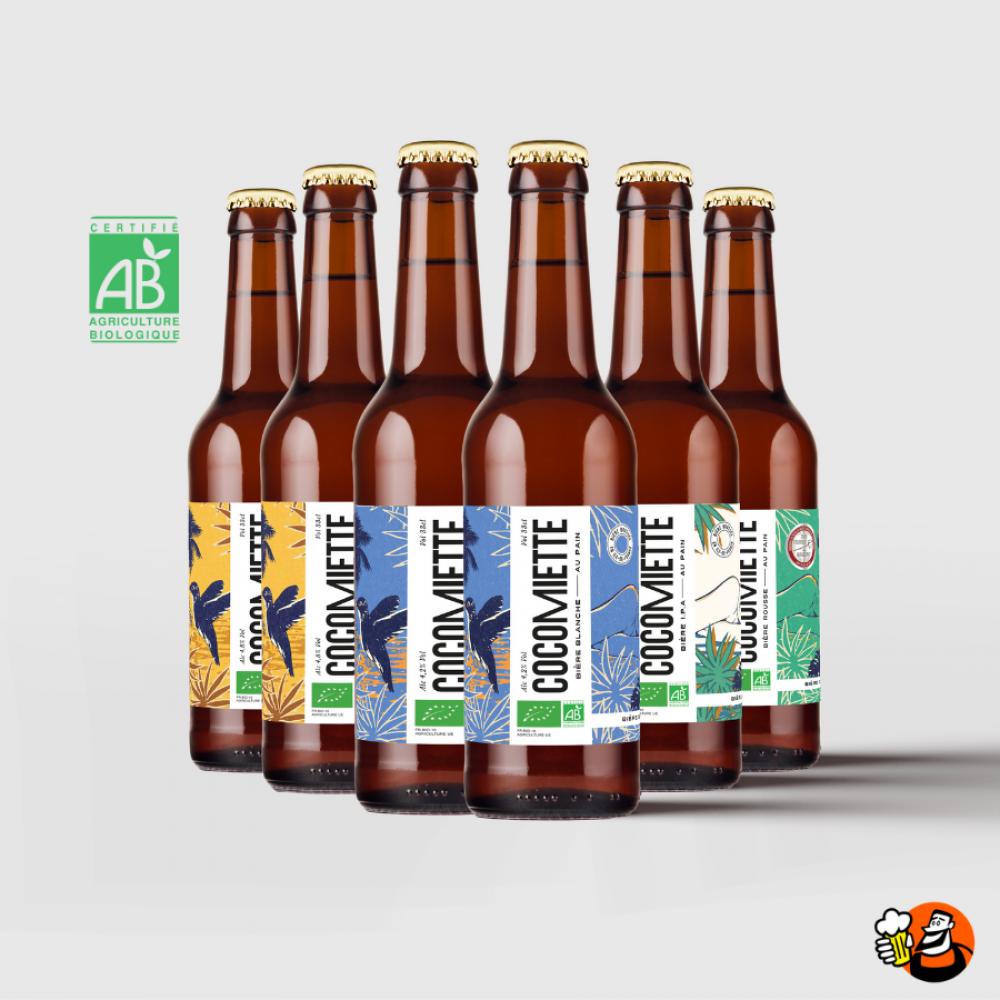 Coffret  de bières - Cocomiette 6x33cl